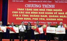 Phó Chủ tịch nước Đặng Thị Ngọc Thịnh trao tặng 500 nhà tình nghĩa