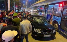 Hà Nội: Truy đuổi tài xế ô tô gây tai nạn khiến 2 bà bầu bị thương rồi bỏ chạy