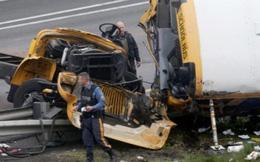 Mỹ: Tai nạn xe buýt chở học sinh, 43 người thương vong