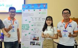 Nhóm sinh viên với dự án khởi nghiệp xem quảng cáo để làm... từ thiện