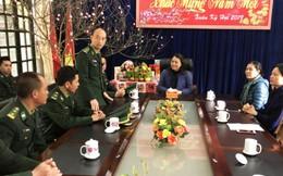 Chủ tịch Hội LHPN Việt Nam thăm, chúc Tết đồn biên phòng và phụ nữ nơi biên giới