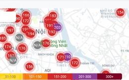 Chỉ số ô nhiễm không khí ở Hà Nội lại đáng lo ngại