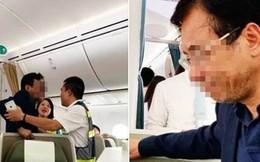 Xác minh hành vi của nam hành khách say rượu sàm sỡ cô gái trên máy bay