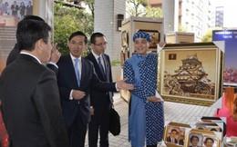 Tranh gạo Việt gây ấn tượng tại Nhật