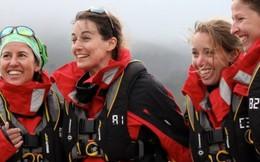 Chèo thuyền vượt biển vì phụ nữ ung thư vú