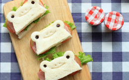 Bánh mì chú ếch Keroppi