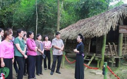 TƯ Hội LHPNVN về nguồn tại Tuyên Quang