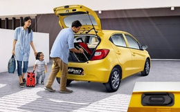 Honda Brio hơn 400 triệu đồng: Đánh trúng phân khúc gia đình trẻ