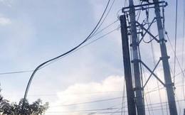 Vướng phải dây điện do xe tải làm đứt, nữ sinh 17 tuổi tử vong