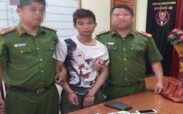 Ép xe cướp giật túi xách của phụ nữ trên đường Hà Nội