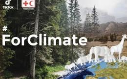 TikTok cùng Hiệp hội Chữ thập đỏ và IFRC thúc đẩy các hành động chống biến đổi khí hậu