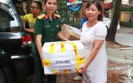 Bảo tàng lịch sử Quân sự Việt Nam ủng hộ Mottainai 16 thùng đồ và hơn 4,7 triệu đồng