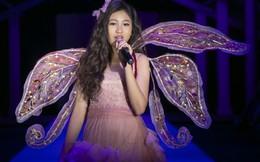 Hoa hậu Hoàn vũ nhí Ngọc Lan Vy gây ấn tượng khi trình diễn thời trang
