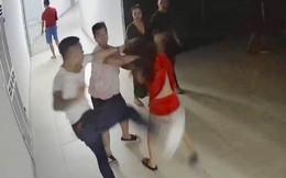 Nhóm thanh niên xông vào chung cư hành hung cô gái trẻ lúc nửa đêm