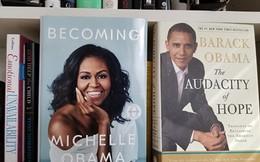 Cuốn tự truyện 'Becoming' giúp vợ chồng bà Michelle Obama trở thành tỷ phú