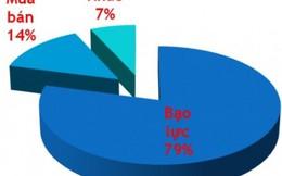 Những biểu đồ 'biết nói' về bạo lực gia đình
