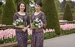 10 bí mật về đồng phục của nữ tiếp viên Singapore Airlines