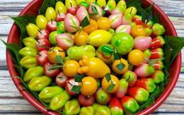 Hoa tươi tăng giá 3-5 lần, xuất hiện nhiều sản phẩm lạ cho mâm cỗ cúng rằm tháng Giêng