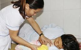 Cứu sống mẹ con sản phụ bị suy thai cấp do sa dây rốn