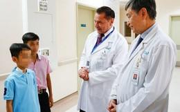 Phẫu thuật cắt u gan ở bệnh nhi không truyền máu từ người khác