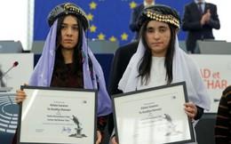 2 cô gái bị IS lạm dụng tình dục nhận giải thưởng Nghị viện Châu Âu