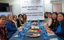 Hội LHPNVN học tập kinh nghiệm tại Israel