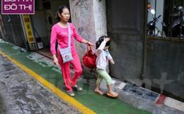 """""""Làn đường ưu tiên BRT trong ngõ"""" đầu tiên ở Hà Nội"""