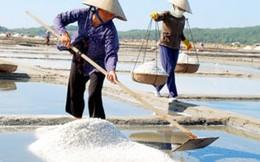 Muối ăn tại các tỉnh miền Trung đều an toàn