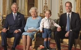 Bức ảnh tuyệt đẹp của 4 thế hệ gia đình Hoàng gia Anh