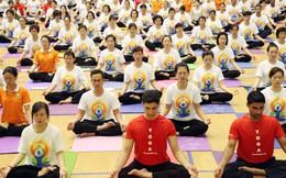 8.000 người sẽ đồng diễn trong Ngày Quốc tế Yoga tại Việt Nam