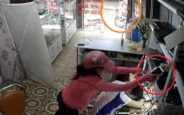 Truy tìm người phụ nữ trộm 3 chiếc iPhone tại cửa hàng máy tính