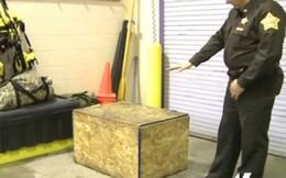 Bé 3 tuổi bị nhốt trong thùng gỗ tồi tệ