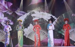 Thí sinh Miss Photo 2017 lộng lẫy với áo dài của NTK Việt Hùng