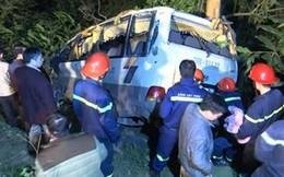 1 nạn nhân nữ tử vong trong xe khách lao vực ở Lào Cai