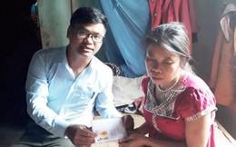 Hơn 80 triệu đồng do bạn đọc Báo PNVN ủng hộ cô bé 12 tuổi nuôi mẹ liệt giường