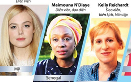 4/9 thành viên Ban giám khảo Liên hoan phim Cannes lần thứ 72 là nữ