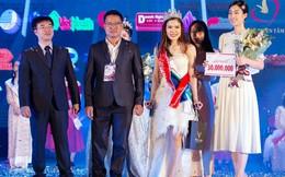 Cô gái dân tộc Tày Bế Thị Băng giành vương miện 'Vẻ đẹp Vầng trăng khuyết' 2019