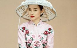 Á hậu Thanh Trang sắc sảo trong bộ ảnh chào xuân
