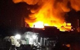 Hai vợ chồng chết cháy thương tâm trong vụ hỏa hoạn chợ ngày giáp tết