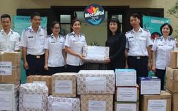 Hội Phụ nữ Cảnh sát biển gửi tặng 5 triệu đồng và 21 thùng quà đến Mottainai