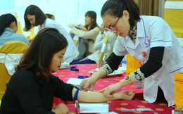 """Ngày hội hiến máu tình nguyện """"Chủ nhật Đỏ"""" thu hút hàng nghìn người dân tham gia"""