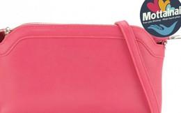 Dễ thương với chiếc túi đeo chéo màu hồng thời trang