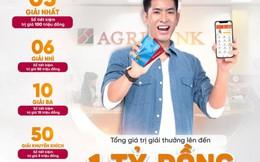 Giao dịch nhanh - trúng thưởng lớn cùng Agribank