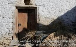 Phụ nữ Nepal bị đuổi ra chuồng bò ngày 'đèn đỏ'