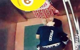 Công an xác định kẻ bò sàn nhìn váy cố gái trong thang máy là thiếu niên 16 tuổi