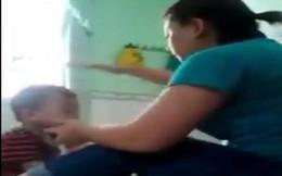 Công an làm việc với bảo mẫu đánh nhiều trẻ mầm non ở An Giang