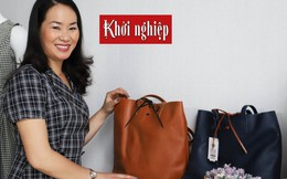 'Vượt vũ môn' tạo thương hiệu túi xách thời trang Việt