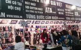 Hội chợ Thời trang giảm giá trước khai mạc