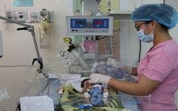 Nuôi sống trẻ sinh non 31 tuần tuổi bị bệnh tim bẩm sinh
