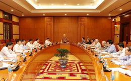 Tổng Bí thư chủ trì phiên đầu tiên của Thường trực Tiểu ban Văn kiện Đại hội XIII